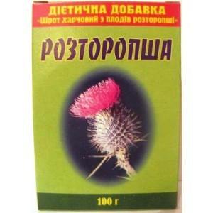 Расторопша шрот (100гр. )