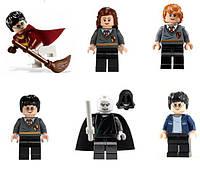 Фигурки Harry Potter Гарри Поттер Лего 6 шт набор