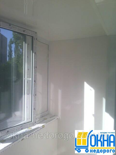 Балкон под ключ Буча - фото работы Окна Недорого