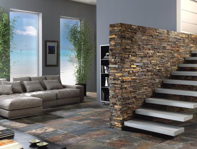 Болгарский сланец - элитный материал для декорирования интерьера и экстерьера.