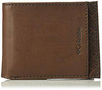 Кожаный кошелек мужской Columbia фирменный портмоне оригинал из США