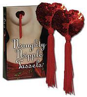 Прикраса для сосків сердечка - Nipple Tassels