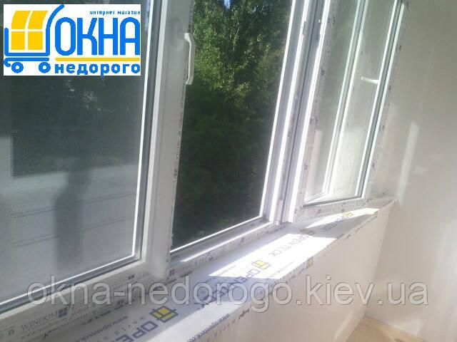 Балкон под ключ Вышгород от компании Okna Nedorogo
