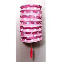 Фонарик бумажный цветной (12х12х15 см) , Фонари