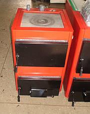 Котел с плитой твердотопливный Проскуров АОТВ 18-КМ  с плитой , фото 3