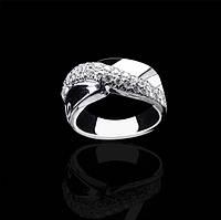 Кольцо из белого золота с бриллиантами С18Л2№3