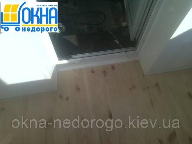 Балкон под ключ Борисполь - устройство чернового пола