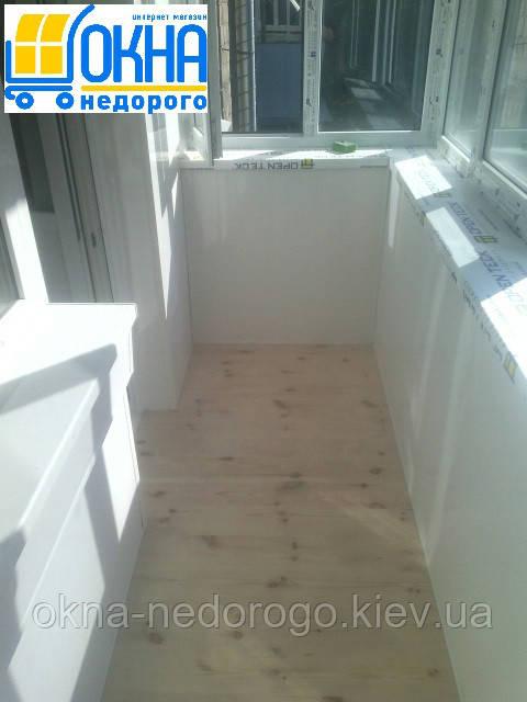 Балкон под ключ Борисполь - фото работы компании Okna Nedorogo