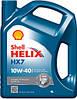 Полусинтетическое моторное масло Shell Helix HX7 10w-40 4л