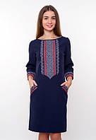 Вышиванка с длинным рукавом, платье, фото 1