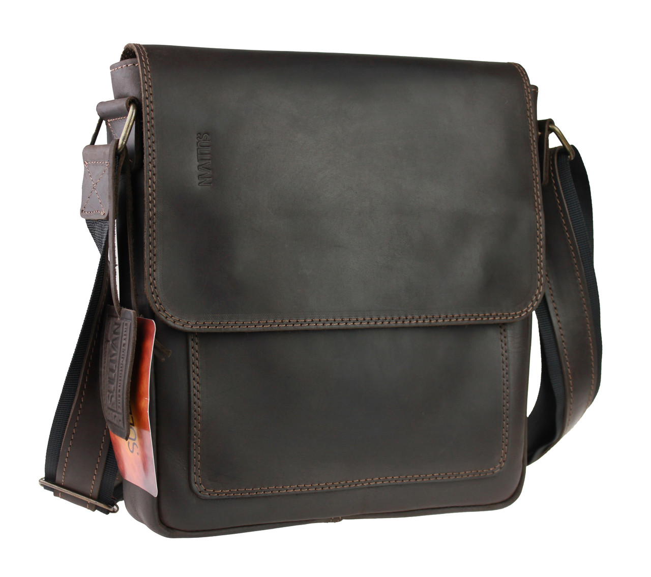 ab6cdb711821 Сумка мужская вертикальная кожаная планшет SULLIVAN: продажа, цена в ...
