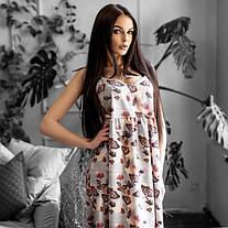 Стильна новинка - Повсякденне плаття в метелик Tanzania >