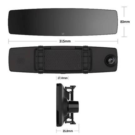 Видеорегистратор - зеркало Xiaomi Yi mirror dash camera Глобальная версия, фото 2