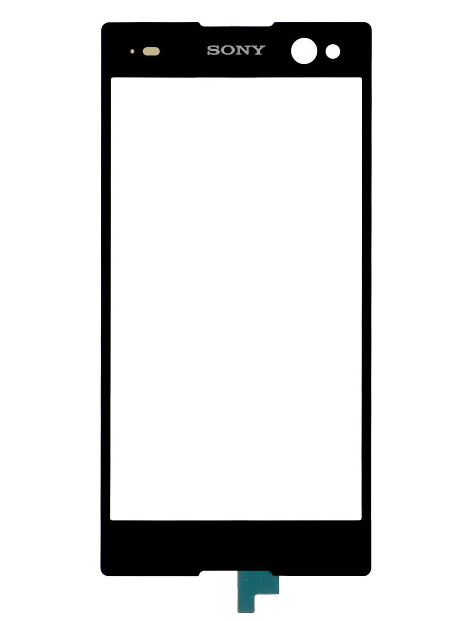 Sony D6643 Xperia Z3 сенсор (тачскрин) черный