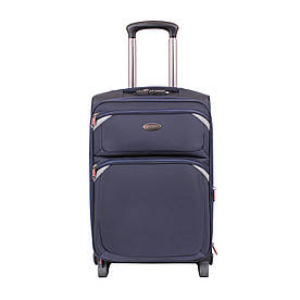 Дорожный синий чемодан