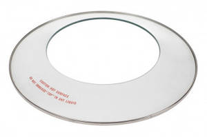Стеклянная крышка чаши для аэрогриля D=315/190mm