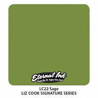 Краска для татуировочных работ Eternal ink. Liz Cook Series. Sage  1/2 oz, фото 1