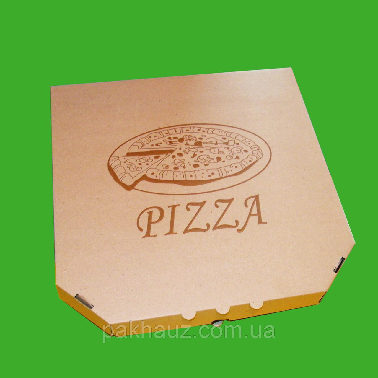 Коробка для пиццы диаметром 45 см