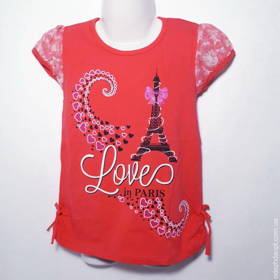 Детская Туника 5-8 'Париж love' 122551