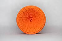 Трикотажная пряжа (50 м), цвет Оранжевый Апельсин