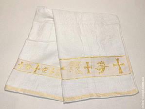Полотенце крестильное с крестиком  (Крижма) 1158