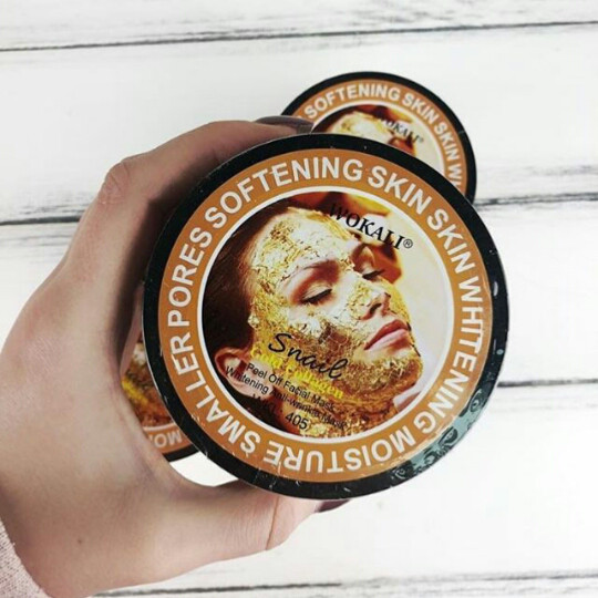 Маска для лица  Wokali Snail Gold Collagen - АроматЪ в Харькове