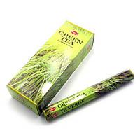 Green Tea (Зеленый Чай)(Hem)(6/уп) шестигранник , Благовония и аксессуары
