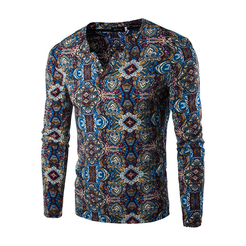 0a495a5e11c Мужская рубашка с рисунком - Магазин «AveShop» в Киеве