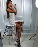 Женское красивое платье в пол люрекс с открытой спиной (3 цвета), фото 7