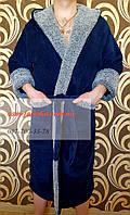 Мужской махровый халат отличного качества XL