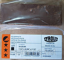 Паста полировальная для латуни, меди, алюминия, цветных металлов- твердая коричневая Polish-NE Tyrolit T741285