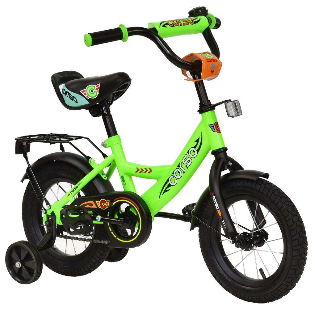 Велосипед CORSO Салатовый С-12060