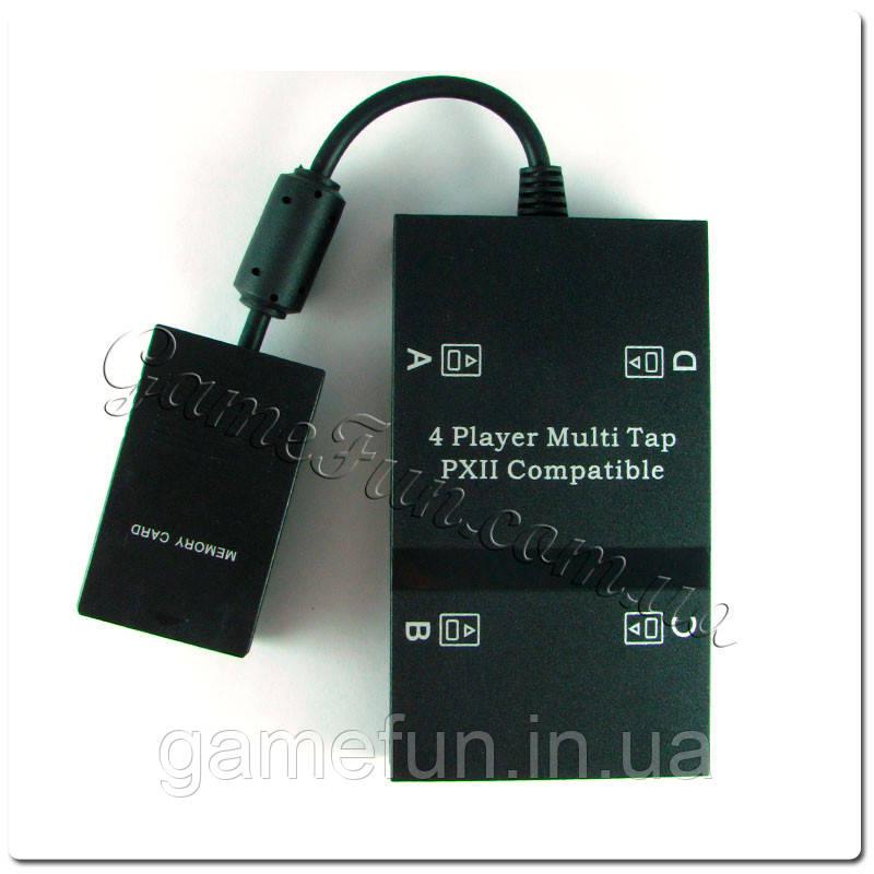 Разветвитель MultiTap PS2 для игры вчетвером