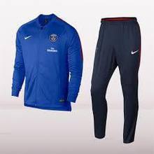 Спортивный костюм Nike PSG M NK DRY SQD TRK SUIT K 854722-440 JR