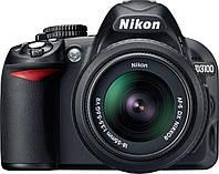 Зеркальный фотоаппарат Nikon D3100 Black / Kit AF-S DX 18-55mm VR / 12 мес