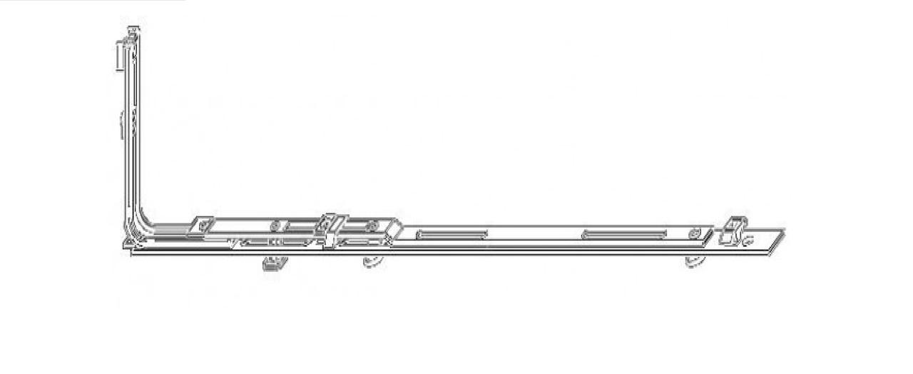 Горизонтально-откидной запор MACO (1001-1200)