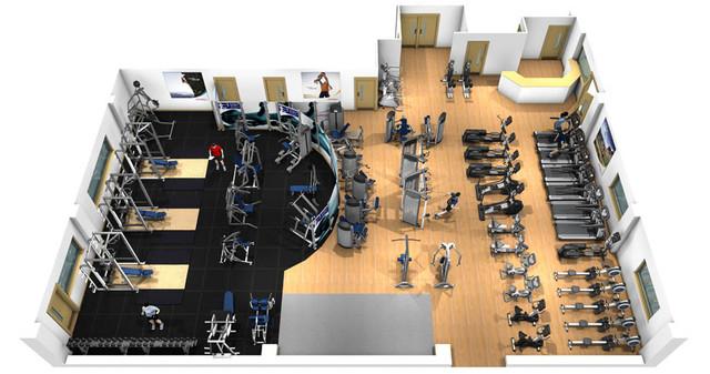 Оборудование для спортзалов и фитнес клубов