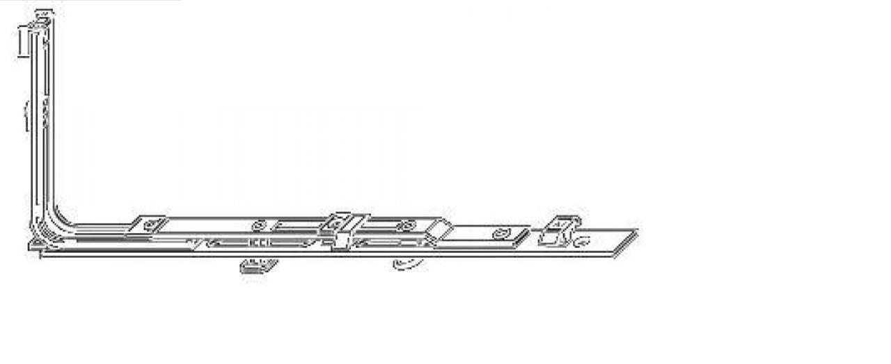 Горизонтально-откидной запор MACO (280-480)