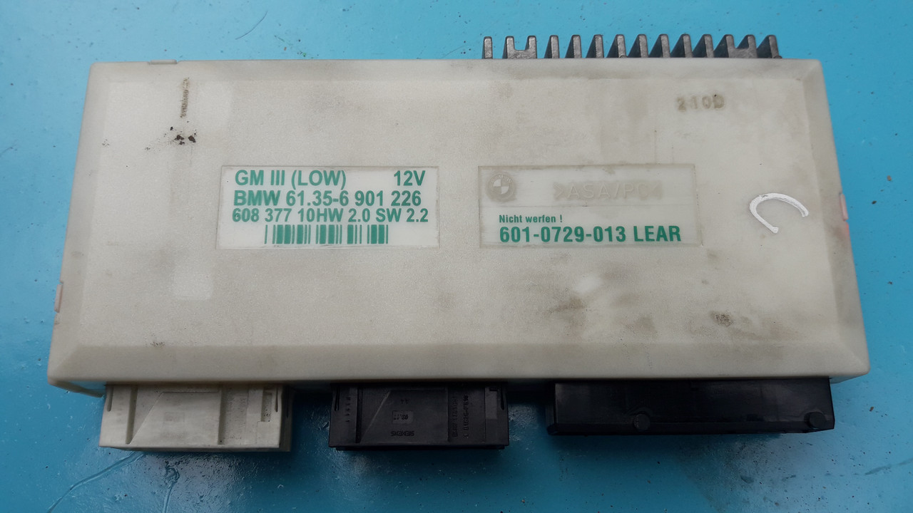 Блок управління BCM комфорту бмв е38 е39 61356901226 GM III BMW E38 E39