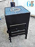 Буржуйка, Печь буржуйка, Буржуйка с варочным верхом, Печь варочная, фото 1