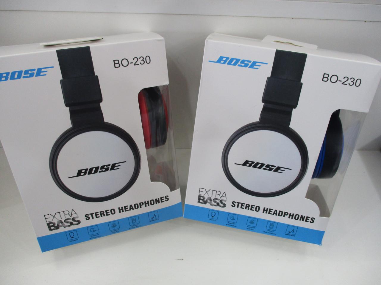 Наушники Bose 230 AUX (черные 68a95493a1979