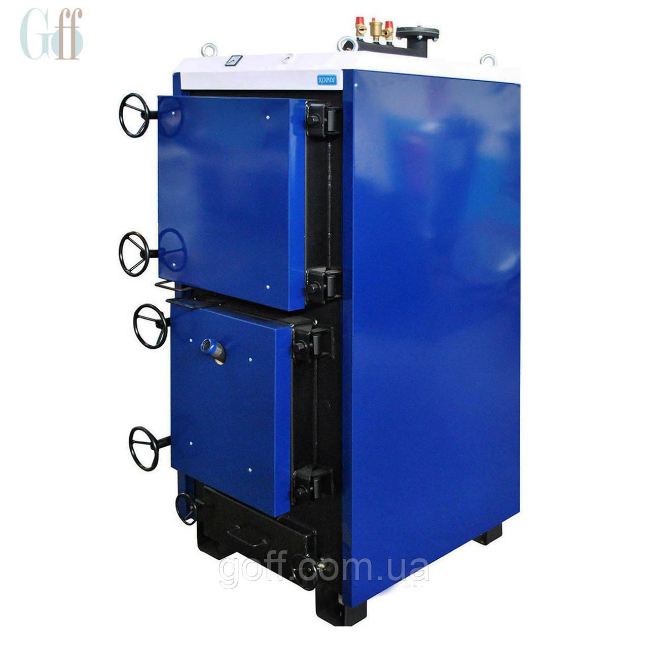 Промышленный твердотопливный котел 100 кВт