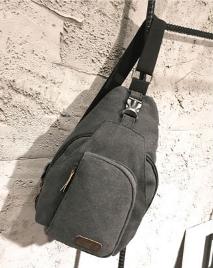 Сумка-рюкзак Flish т/серая большая С243