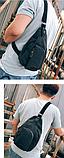 Сумка-рюкзак Flish т/серая большая С243, фото 2