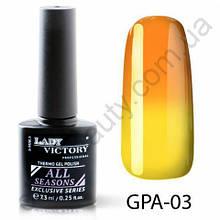 Термогель-лак Lady Victory GPA - 03, 7.3 мл