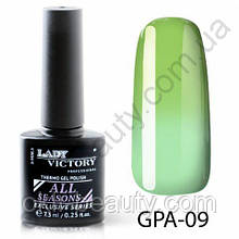 Термогель-лак Lady Victory GPA - 09, 7.3 мл