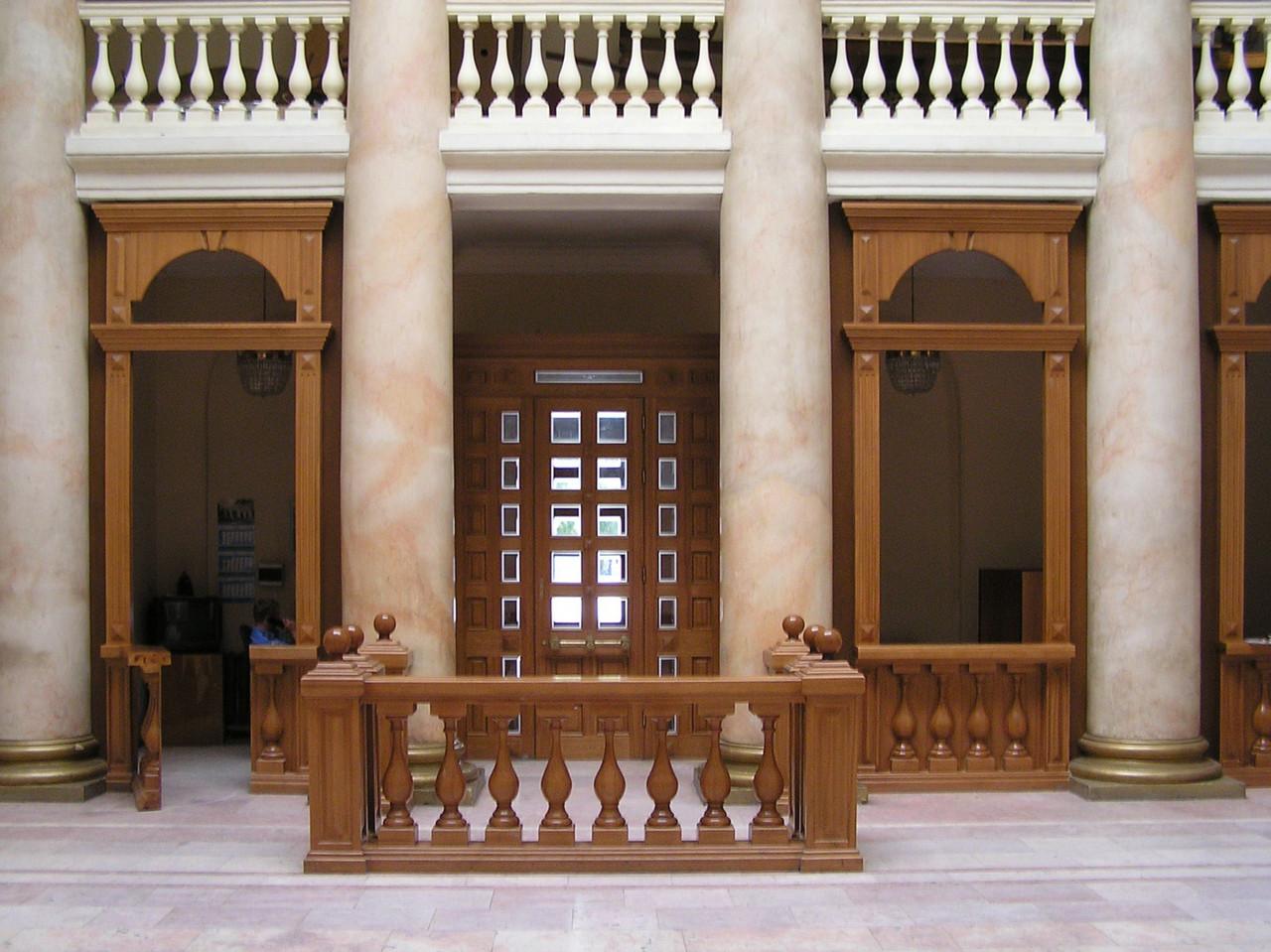 Изготовление деревянных интерьеров