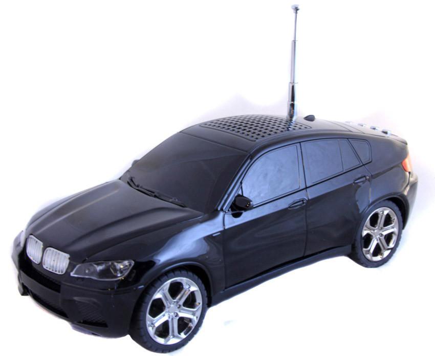 Портативная аудио-колонка MP3 BMW X6.