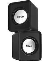 Аудио колонки 2.0 trust leto speaker set black (19830)