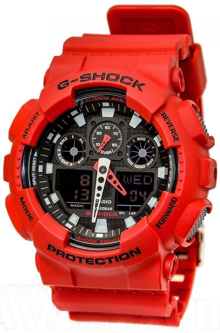 Наручные мужские часы Casio GA-100B-4AER оригинал
